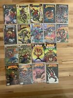 Badger Lot Of 18 Comics 1-5 & 7-11 Image Mike Baron - 2-5 Saves The World + More
