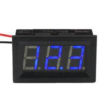 DC 4.5V-30V Blue LED Car Digital Display Voltage Volt Meter Panel Gauge Sales