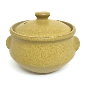 Vintage Denby Small Casserole Dish ( 1/2 Pt ) With Lid