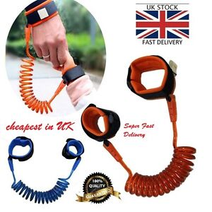 UK Kid Baby Safety Anti-lost Strap Link Harness Child Wrist Band-Belt C056