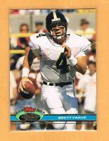 1991 Stadium Club Brett Favre Rookie #94 Green Bay Packers RC Falcons