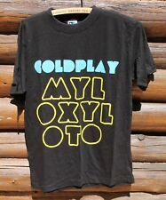 Coldplay Mylo Xyloto Live 2012 T Shirt W/ Dates On Back Adult Size Small +