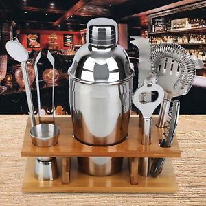 Barkeeper-Tools Edelstahl Cocktail Shaker Mixer Bar Werkzeugset Cocktail-Zubehör