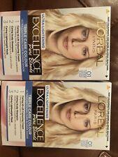 X2 L'Oreal Paris Excellence Creme Permanent Hair Dye, 01 Light Natural Blonde