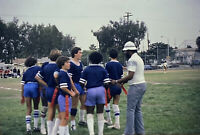 Vintage Photo Slide 1981 Boys Flag Football Jefferson Spirt Sports