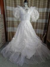 (B24)Edles Damen Braut Standesamt Abend Kleid  GR: GR: 36
