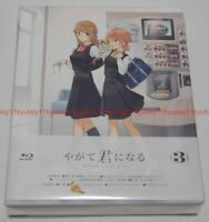 Bloom Into You Yagate Kimi ni Naru Vol.3 Limited Edition Blu-ray Booklet Japan