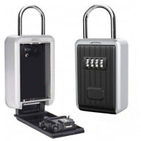Home Security Heavy Duty Password Key Safe Box Safety Storage Combination Lock