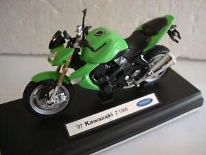 Kawasaki Z 1000 - 2007 Green Welly 1:18