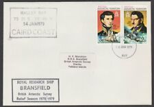 BR ANTARCTIC TERRITORY 1979 cover Royal Research Ship BRANSFIELD cachet.....T215