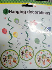 El Chavo del Ocho Party Supplies Danglers Hanging Birthday Decoration Fiesta 3PC