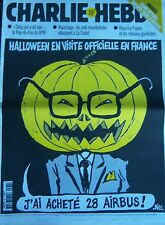 CHARLIE HEBDO No 384 OCTOBRE 1999 RISS HALLOWEEN EN VISITE OFFICIELLE EN FRANCE