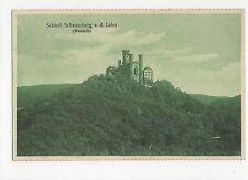 Germany, Schloss Schaumburg a.d. Lahn Westseite Postcard, A594
