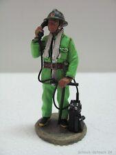 DelPrado Sammelfigur Feuerwehr Zinnfigur Fireman Chine Peking  2002  #17530#