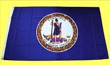 USA Flagge Fahne Virginia: 90x150cm, US State Flag, Country Sturmflagge Saloon