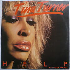 "TINA TURNER - Help (Full length version) - bras. 12""-Maxi"