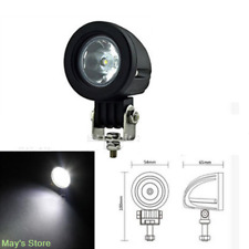 2 pack 10W Spot CREE LED Light Off road Round Work Lamp For Truck 4WD ATV 4X4