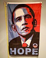BARACK OBAMA FLAG *FREE SHIP USA SELLER!* Hope Biden Trump USA Poster Sign 3x5'