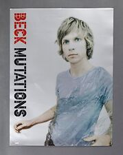 New listing Beck Mutations Promo Poster-18X24 Rare Never Displayed Promotional