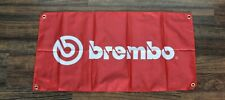 Brembo Banner Flag Race Team Red Racing Auto Automotive Brakes Car Repair Shop