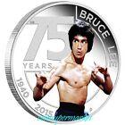 2015 The 75th Anniversary of Bruce Lee 1oz Silver Proof Coin Perth Mint COA Box!
