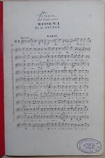 #) partition MESSE N° 1 Ch. Gounod - aux Orphéonistes - 1er tenor