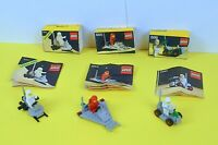 LEGO Classic Space Bundle Job Lot 885 886 6801 with Box and Instructions
