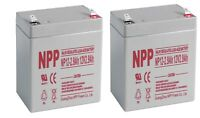 NPP 12V 2.9Ah Rechargeable Sealed Lead Acid Battery replaces UB1229T / (2pcs)