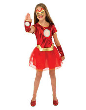 "Iron Man Kids Girl Rescue Dress Costume,Small, Age 3 - 4, HEIGHT 3' 8"" - 4'"
