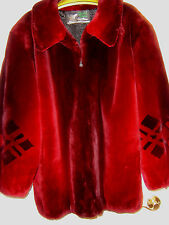 BEAUTIFUL SHEARED BEAVER FUR JACKET OR COAT BY DAVID GREEN FURRIERS X-LARGE
