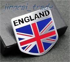 UK England Flag Shield Shape Aluminium Decal Badge Emblem Universal for Auto Car