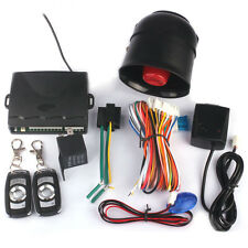 New listing Universal Car Alarm vibration alarm Keyless Entry Security System For Remote New