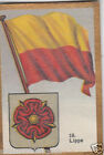 Deutschland Germany LIPPE DRAPEAU FLAG IMAGE CARD 30s