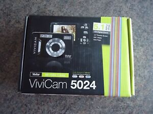 Vivitar ViviCam 5024 5.1MP Digital Camera - Black