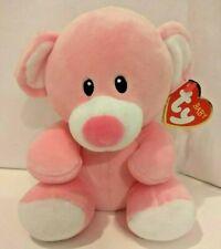 "Ty Baby Princess Pink Bear Plush 8"""