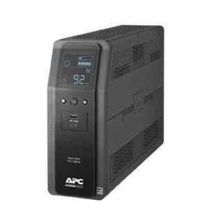 APC BR1000MS Backup Pro 1000 S SineWave 120V USB-C AVR LCD 600W Battery Power