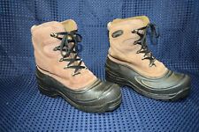 Ranger Winter Lace Duck Boot Brown Women's  Snow Boots Size 10