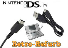 Nintendo DS Lite NDSL DSL - USB Charging Power Charger Cable - Data Sync Cable