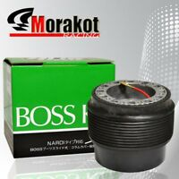 Mitsubishi Eclipse 89-05 Hub Adapter Kit Fit 6-Bolt Racing Steering Wheel Black