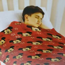 Disney Licensed Mickey Mouse Calming Weighted Blanket Red