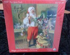 Magic of Christmas 550 Piece Jigsaw Puzzle by Tom Browning NIB