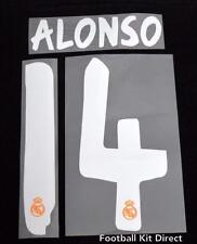 Real Madrid Alonso 14 La Liga Football Shirt Name Set 2013/14 Away Sporting ID
