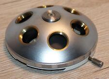 Zeiss MICROSCOPIO Microscope 6 volte obiettivamente rivoltella (Zeiss numero: 45 17 10)