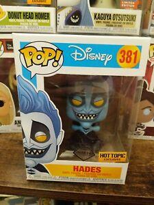 Funko Pop! Disney Hades Diamond Collection #381 Hot Topic Exclusive