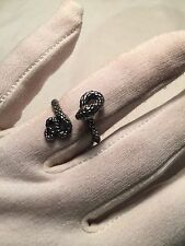 Silver Snake Size 7 Ring Handmade Gothic Vintage Silver Stainless