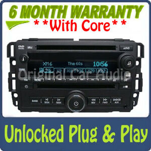 UNLOCKED CHEVY Suburban Silverado Tahoe Avalanche Factory Radio CD DVD Player