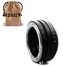 Tilt Nikon F Mount Lens To Micro 4/3 M43 Adapter E-P3 E-PL3 E-PM1 GF3 GF2 G3 GH2