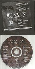 STEVE VAI The Elusive Light and Sound Vol. 1 RARE ADVNCE CARDED SLEEVE PROMO CD