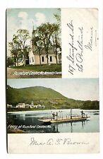 Vintage Postcard FERRY RUMFORD CENTER MAINE  Methodist Church UDB