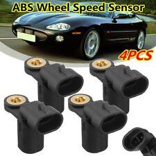 4 ABS Wheel Speed Sensor LJA2226AA For Jaguar XJ8 XJR XKR XK8 XJ6 XJ12 1996-2005